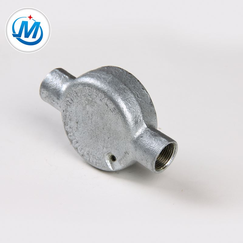 Producing Safely 2.4Mpa Test Pressure Mini Malleable Iron Junction Box