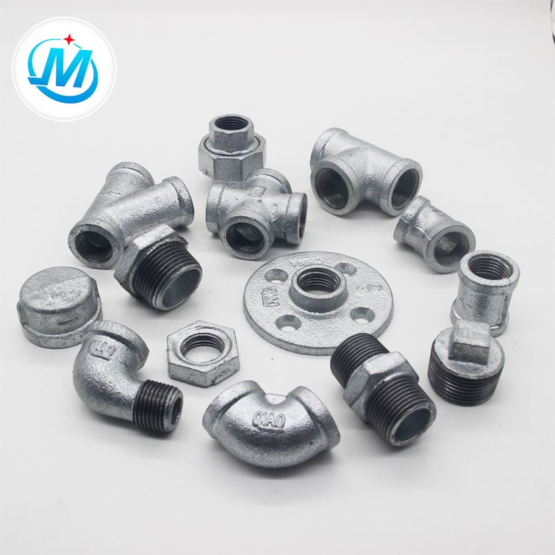 galvanized gi malleable iron pipe fittings