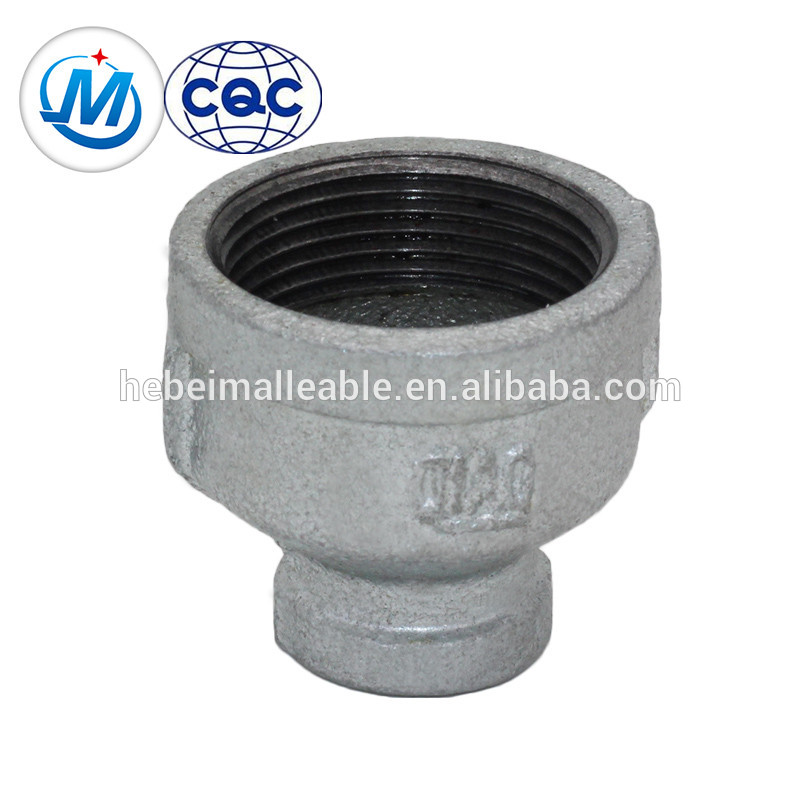 GI coupling malleable iron socket reducing