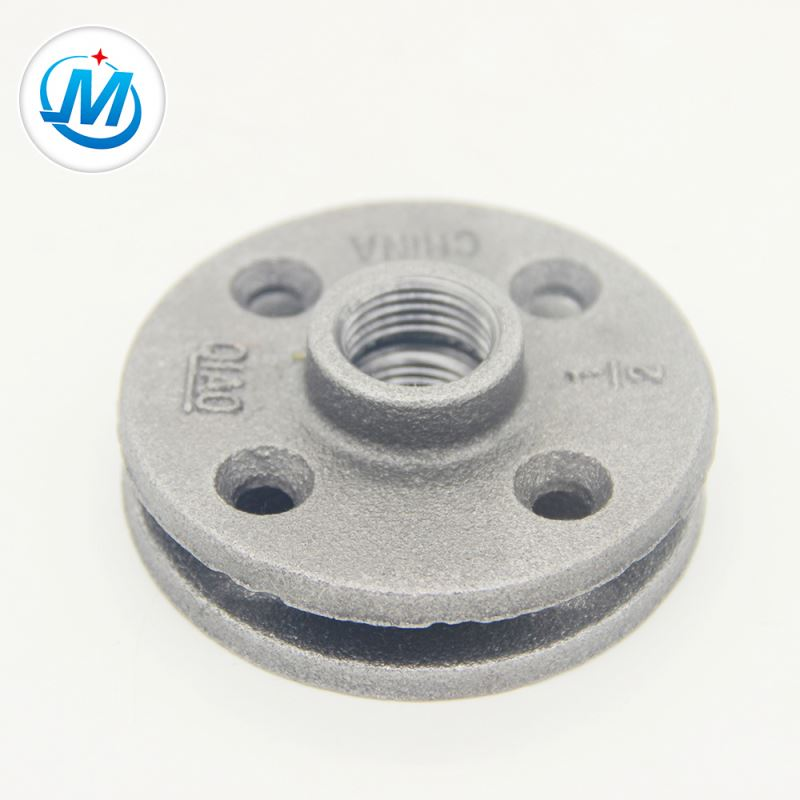 3/4 inch industry standard malleable iron flange
