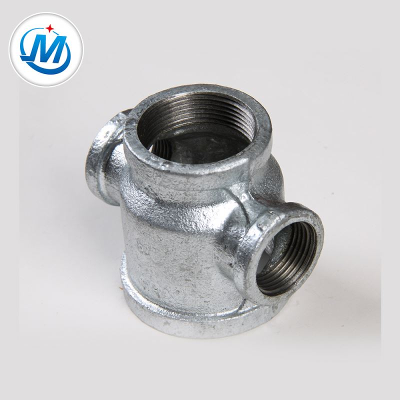 Factory Cheap Cl300 Pipe Flange - Producing Safely For Air Connect As Media Malleable Iron Reducer Cross Pipe Fitting – Jinmai Casting