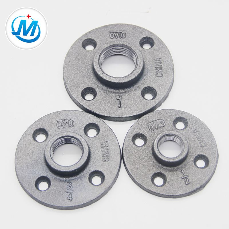 "3/4"" Connection Malleable Iron Floor Flange"
