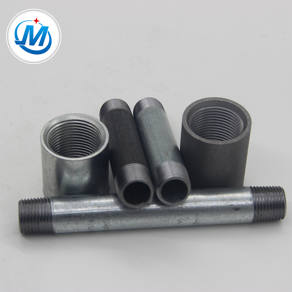 Low price for Pe Fabricated Elbow - Shijiazhuang Black Pipe Nipple Npt Thread – Jinmai Casting