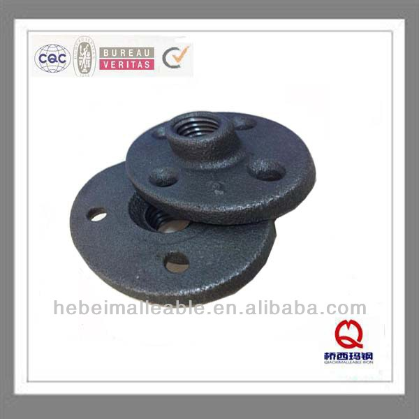 "1-1 / 4 ""150 lbs malambot cast iron pipe agpang thread flange"