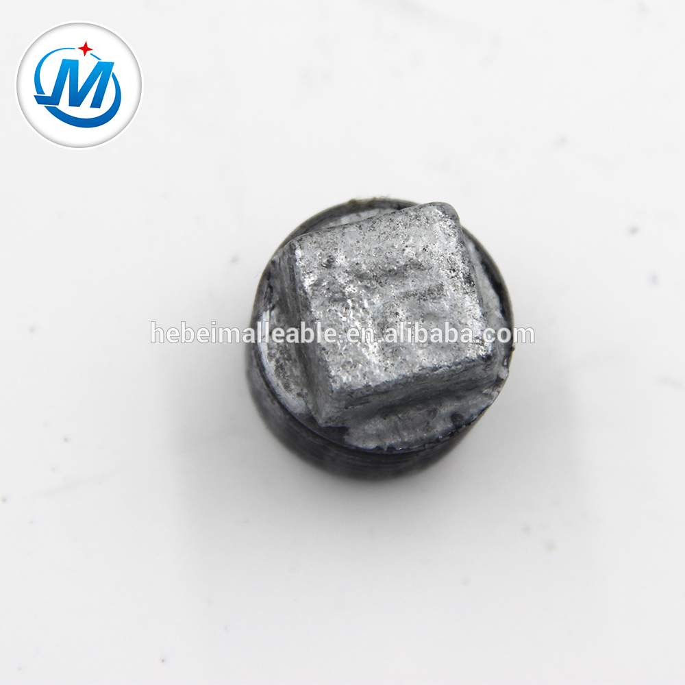Online Exporter 135 Degree Pipe Bend - water oil gas NPT standard cheaper Pipe Fitting Beaded Type Plug – Jinmai Casting