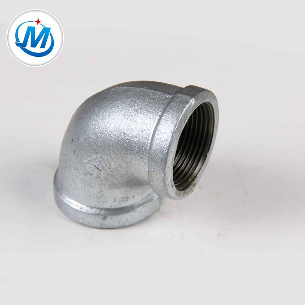 hot diepped galvanized malleable iron pipe fittings elbow