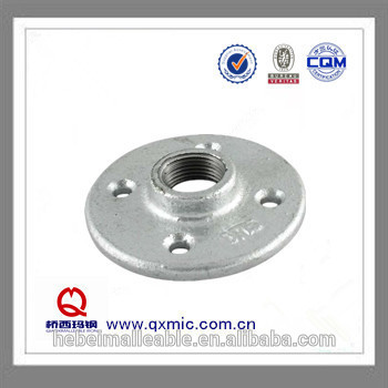 QIAO brand ASTM standard malleable fitting flange with the hole