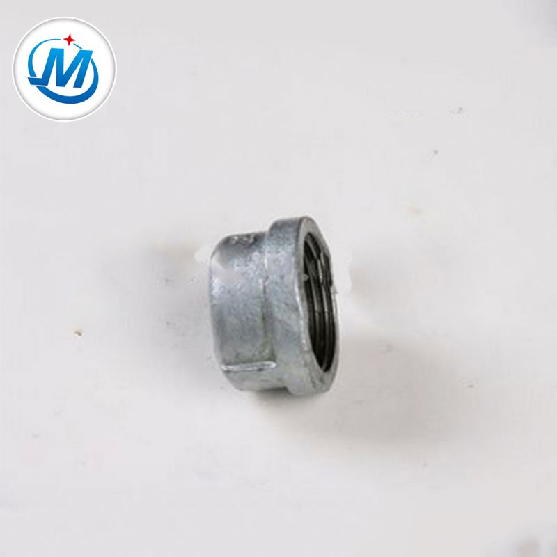 Best Price on Oem Customized Metal Mechanical Parts - BV Certification Female Connection Male Threaded Coupling Pipe Cap – Jinmai Casting detail pictures