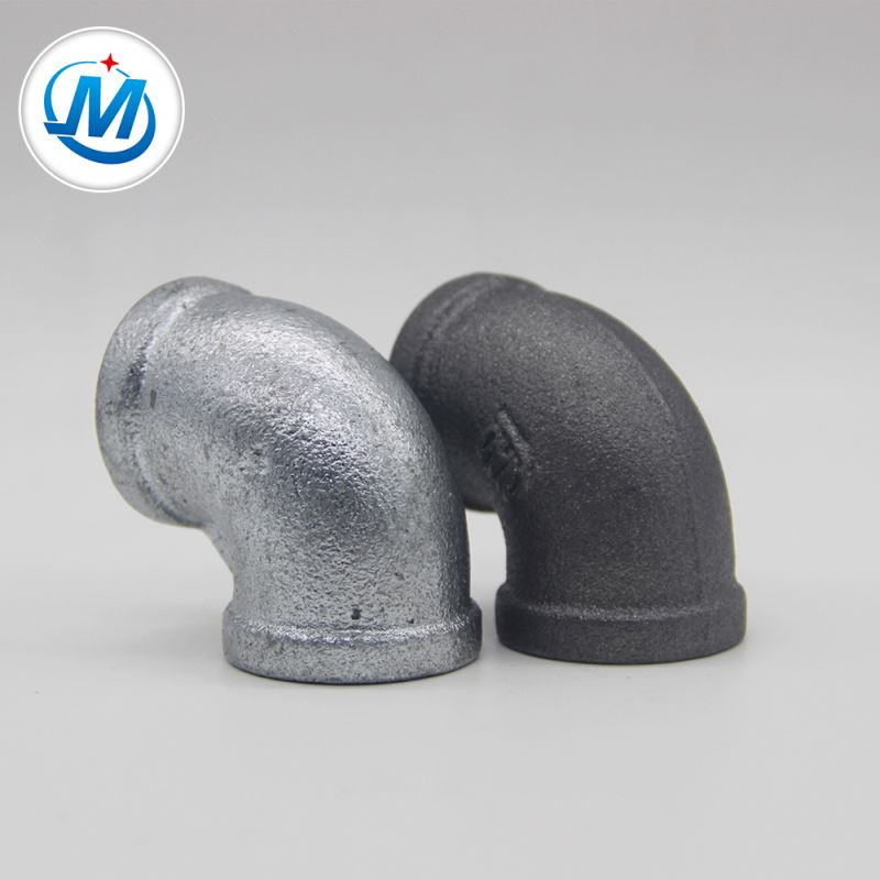 Fast delivery Long Pre-cut Black Steel Pipe - thread 90 degree pipe