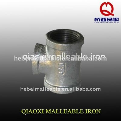 Factory Supply 3 Way Tee Pipe Fitting -