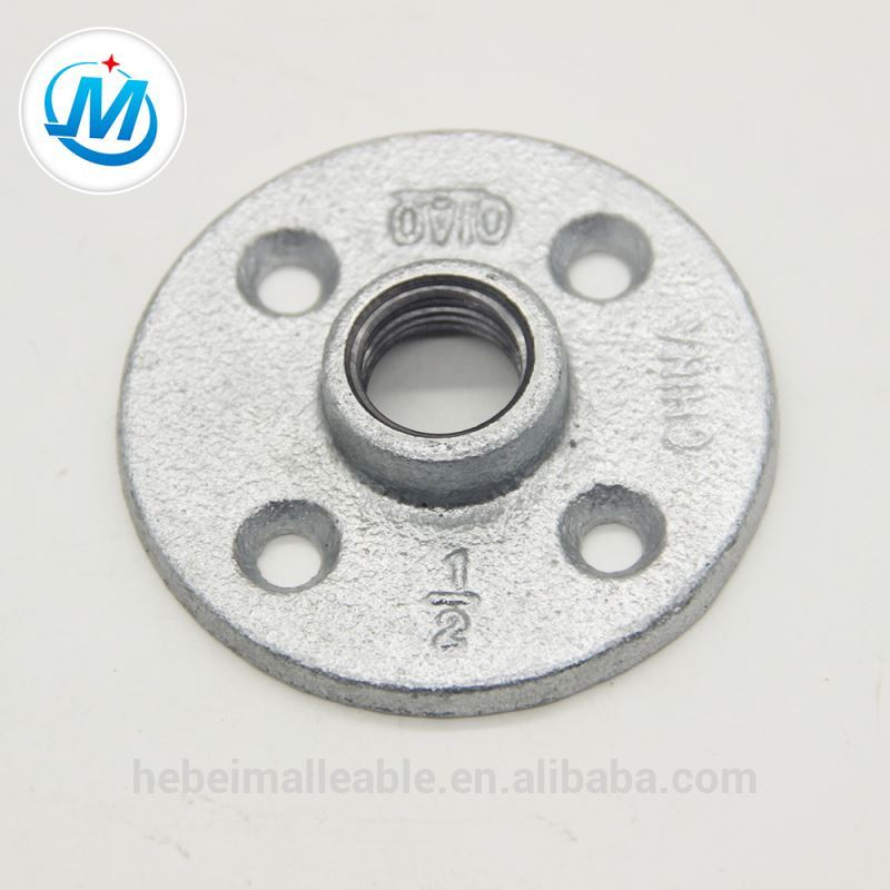 pipe fitting malleable iron flange 20mm