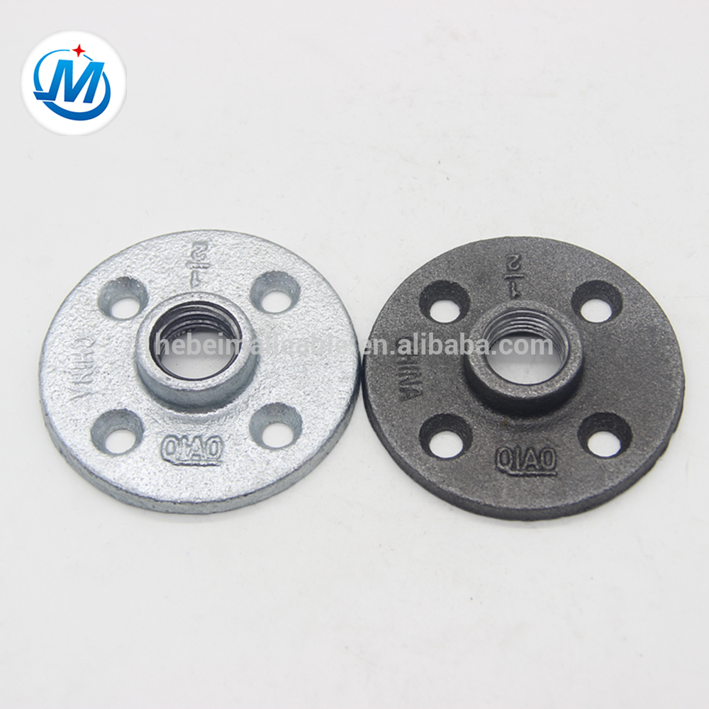 20mm high quality cast iron pipe flanges,galvanized malleable iron pipe flanges