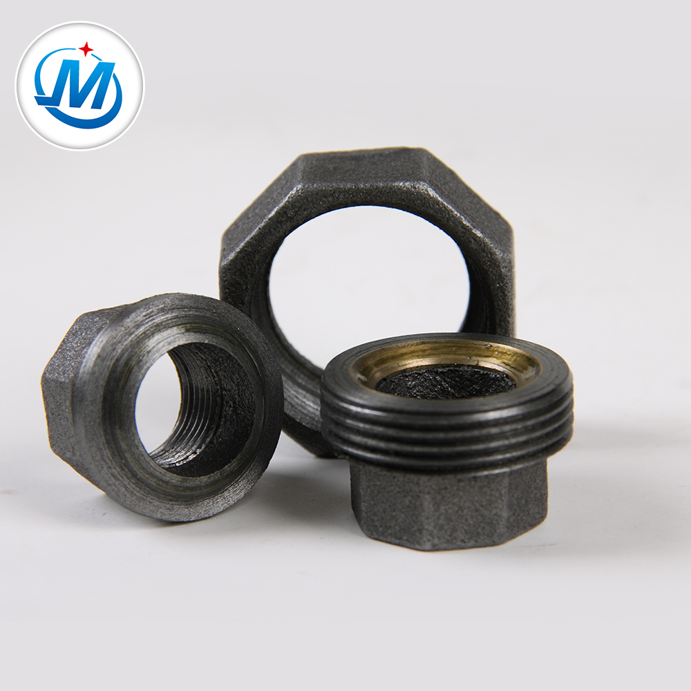 Wholesale Discount Hot Dip Galvanized Elbow - Malleable Iron Banded Beaded Plain Type Union with Brass Seat – Jinmai Casting