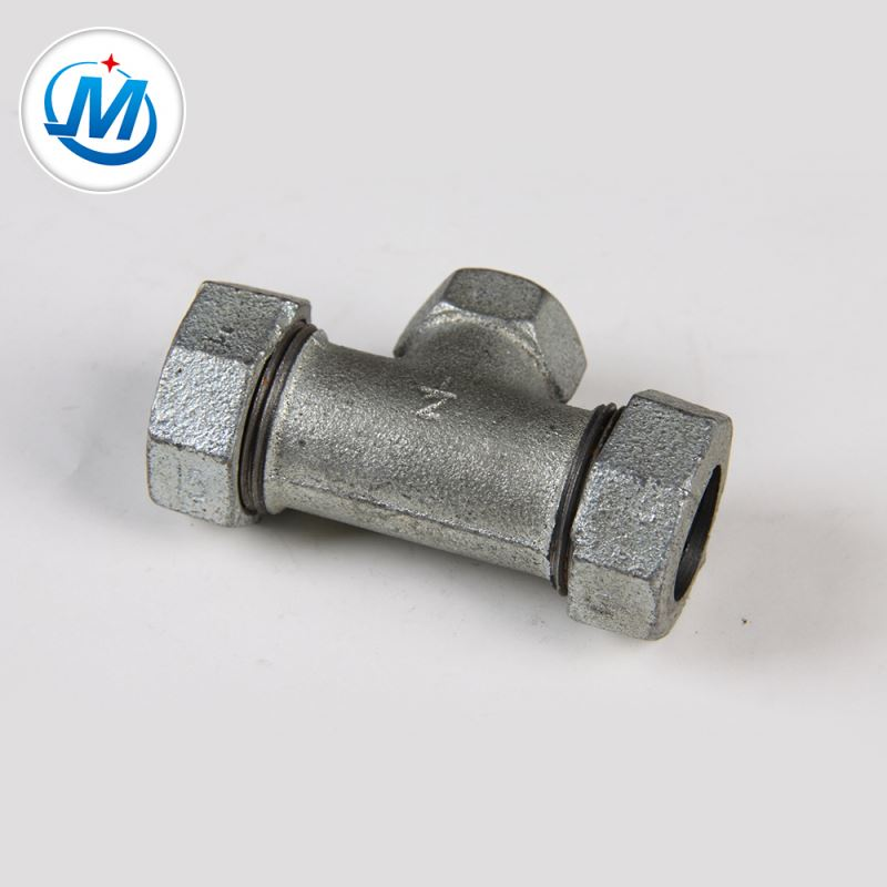 Good quality Black Steel Pipe Coupling - For Gas Connect NPT Standard Different Types Pipe Fitting Compression Tees – Jinmai Casting