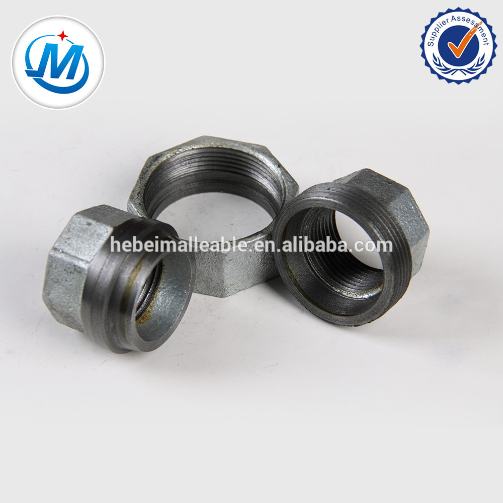 2 inch black and galvanized malleable cast iron pipe fitting rotary union