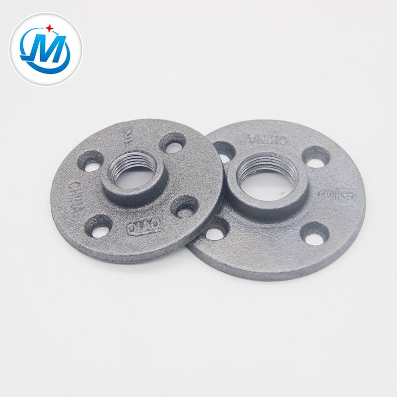 "China Supply 1.6Mpa Working Pressure 3/4"" Malleable Iron Pipe Fitting Flange With Free Samples"