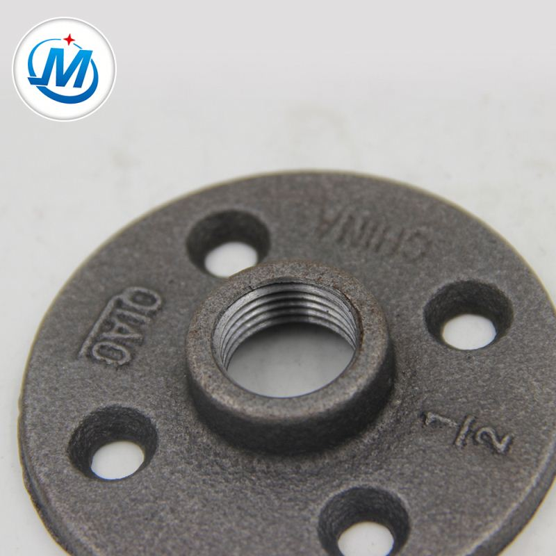 Factory directly Malleable Iron Fitting - Small MOQ Factory Direct Sale Black Malleable Iron Galvanized Pipe Fittings Flanges – Jinmai Casting
