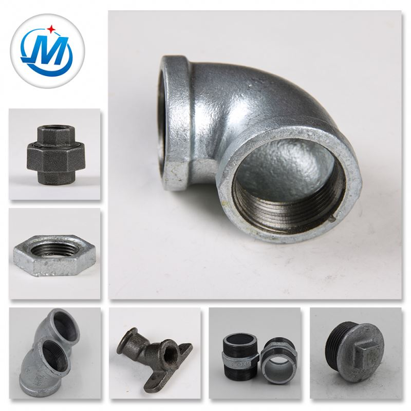 OEM/ODM China Female Thread Fitting - High Praise Round Shape Castings Iron Thread Pipe Fittings – Jinmai Casting detail pictures