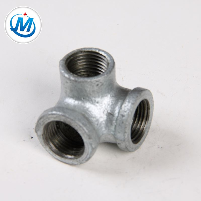 Hot sale Galvanized Hex Nipple Cast Iron Fittings - Trade Assurance Supplier DIN Galvanized Malleable Iron Pipe Fittings Side Outlet Elbows – Jinmai Casting