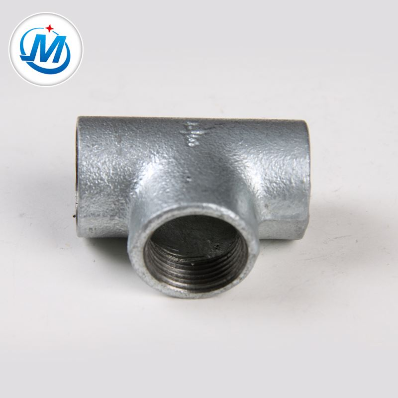 factory customized Casting Threaded Pipe Fittings - Have Almost 300 Retail Shop Lower Price Galvanized Malleable Iron Pipe Fittings Tees – Jinmai Casting detail pictures