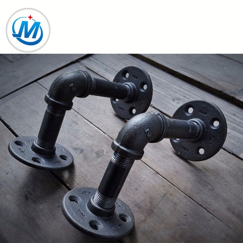 High Quality for Black Malleable Iron Nipple - Alibaba China Supplier cast iron pipe fitting plug flange – Jinmai Casting detail pictures