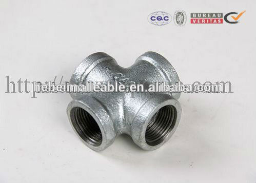 Online Exporter Tube Clamp Fitting - High Quality NPT Thread Black Malleable Iron Pipe Fittings – Jinmai Casting detail pictures