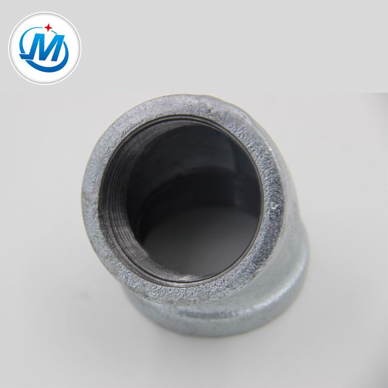 Manufacturer of Tri Clamp Clover - Golden Supplier Low Price Thread Fitting 45 Degree Elbow – Jinmai Casting