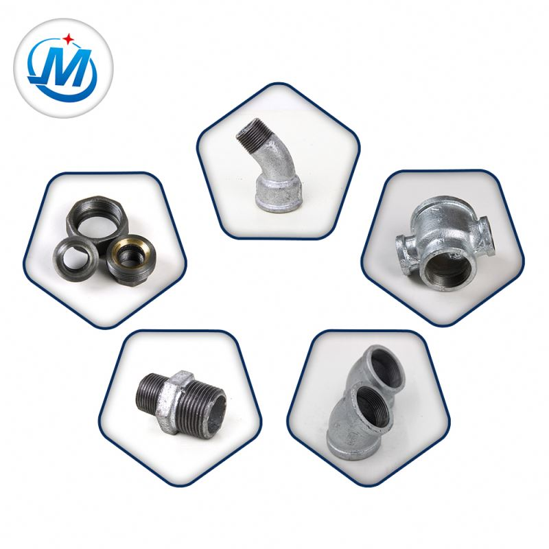 Dip Galvanized Malleable Cast Iron Water Pipe Fittings