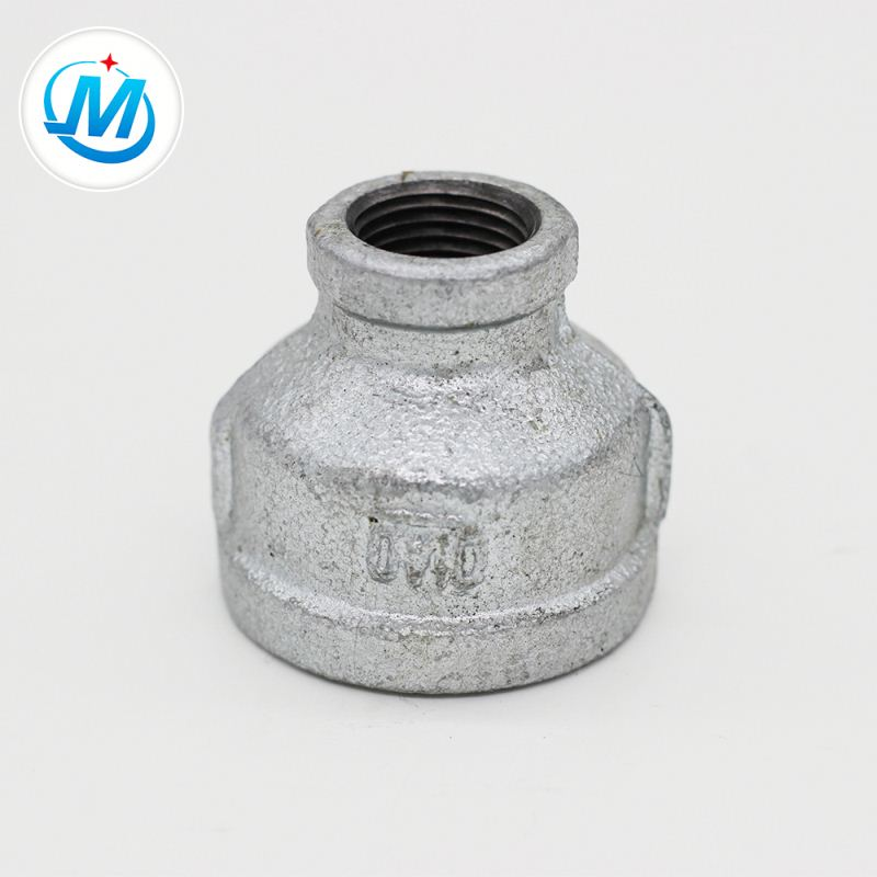 Factory Price For Rotation Lean Pipe Fitting - Malleable Iron Black Pipe Fittings Reducing Socket – Jinmai Casting