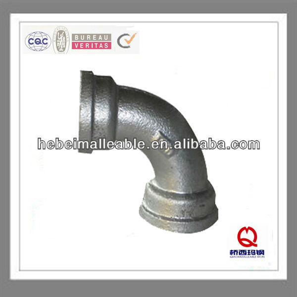 Leading Manufacturer for Brass Nipple Thread Pipe Fitting - QIAO brand fitting bends malleable ironpipe fittings – Jinmai Casting