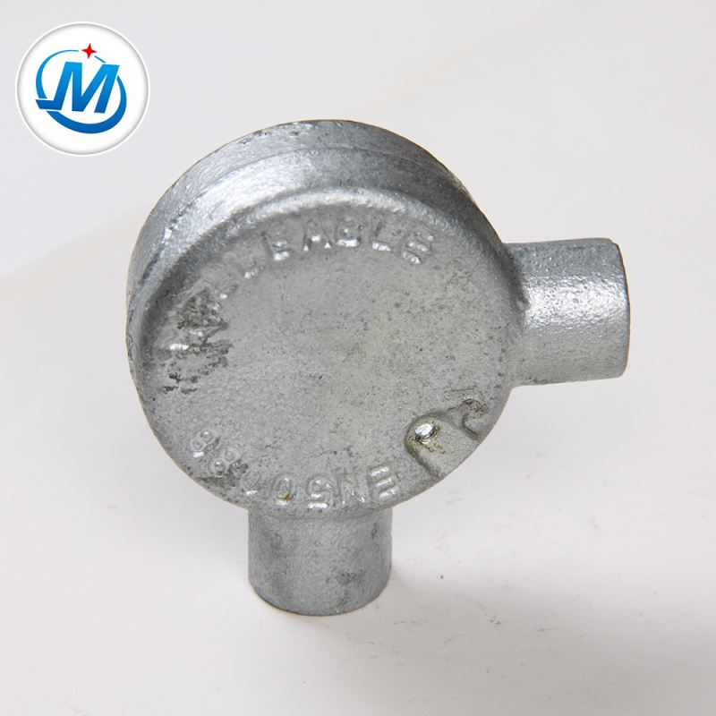 PriceList for Galvanized Iron 45 Elbows - Passed ISO 9001 Test Female Connection Malleable Iron Junction Box – Jinmai Casting detail pictures