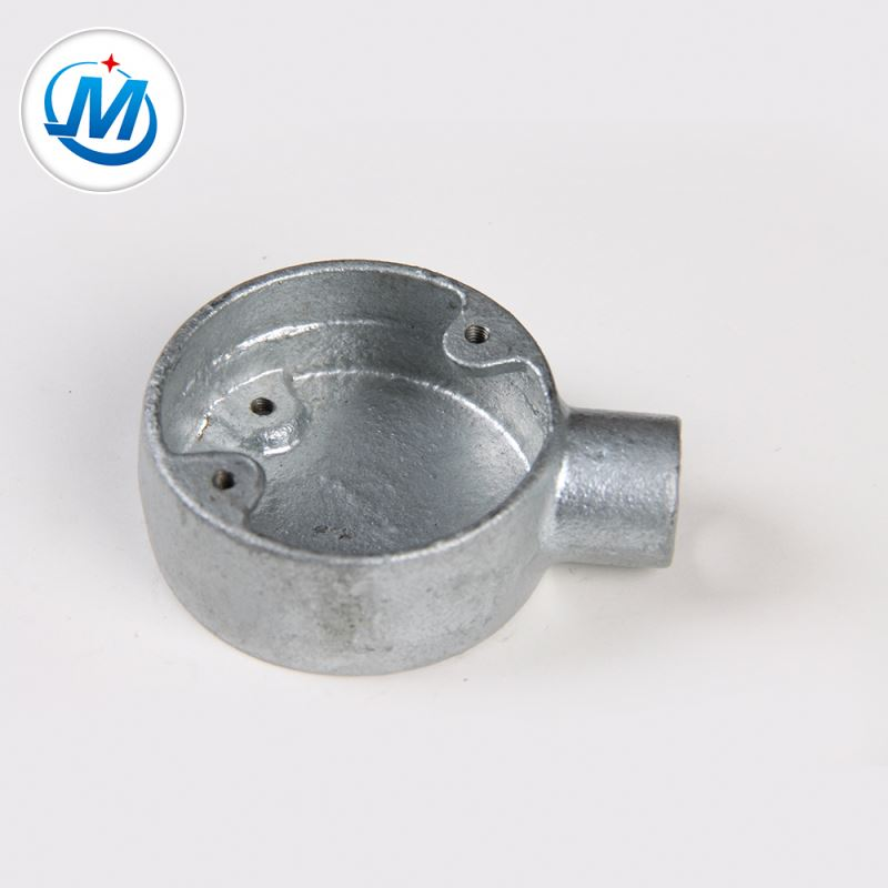 Passed BV Test Joint Pipeline Malleable Iron Junction Metal Box