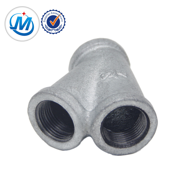 Best used in oil malleable iron casted pipe fitting Y branche 45degree