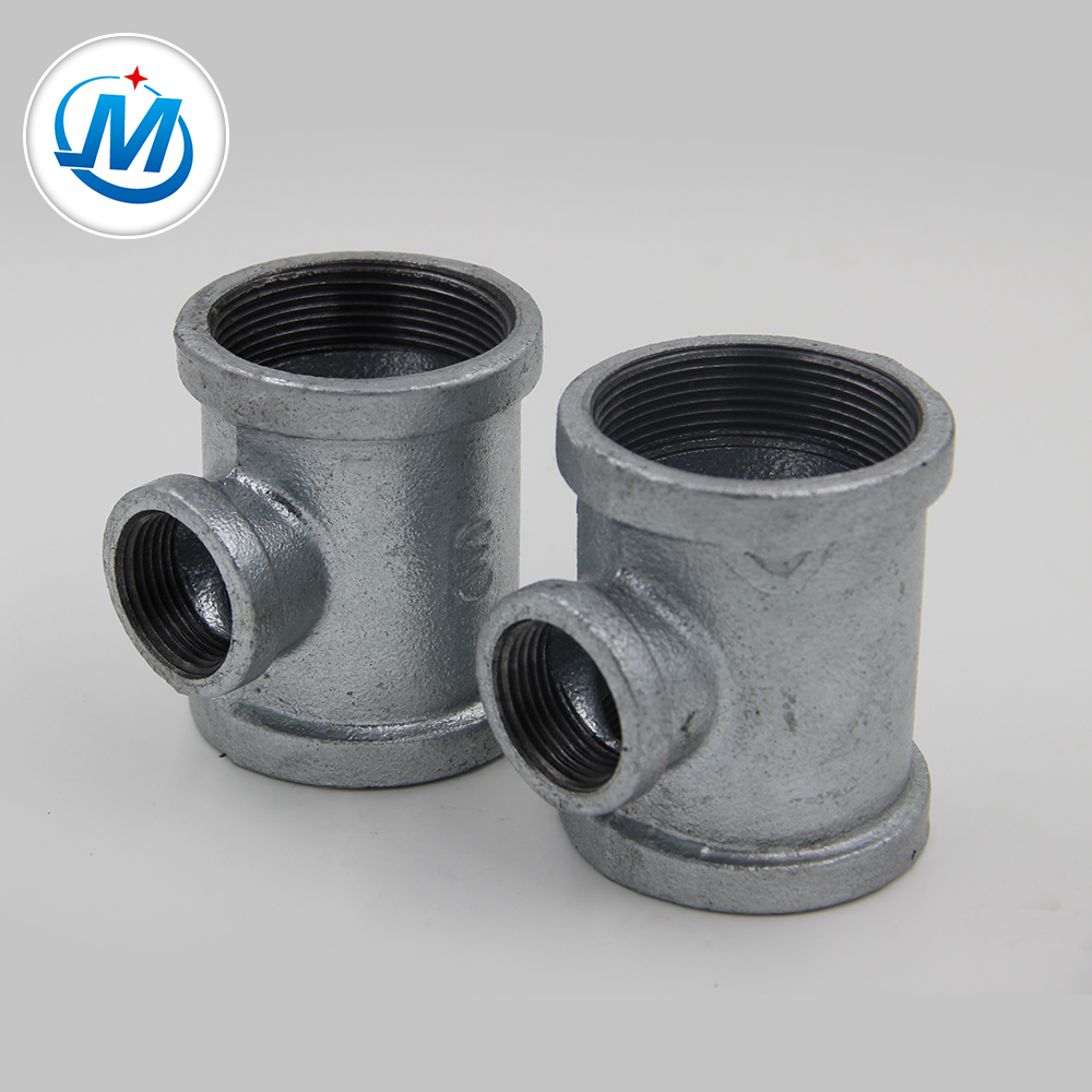 """1/2"""" banded cast iron pipe fitting Reducing Tee"""