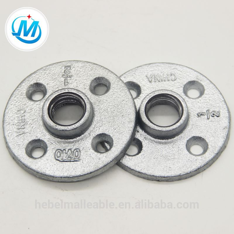 professional pipe fitting floor flanges with factory price