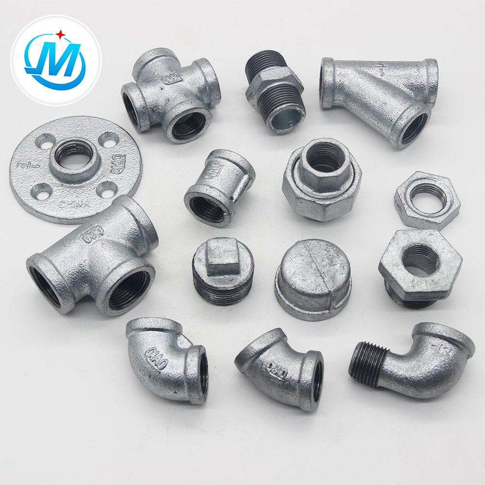 Factory directly supply Brass Iron Casting Brass Fittings - China Products For Water Connect Bspt Thread Galvanized Water Supply Pipe Fittings – Jinmai Casting detail pictures