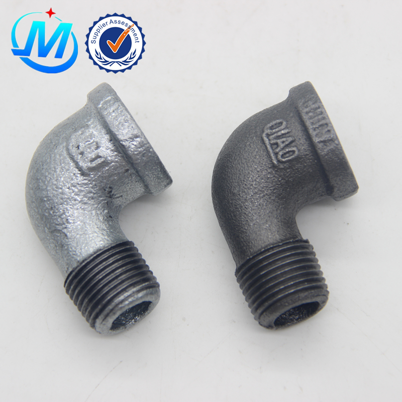 Popular Design for Gas Pipe Compression Fitting - allibaba com galvanized NPT standard cheaper Street Elbow – Jinmai Casting