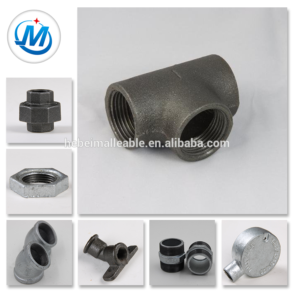 New Delivery for Threaded Nipple - iron BS standard new product pipe fittingTee – Jinmai Casting