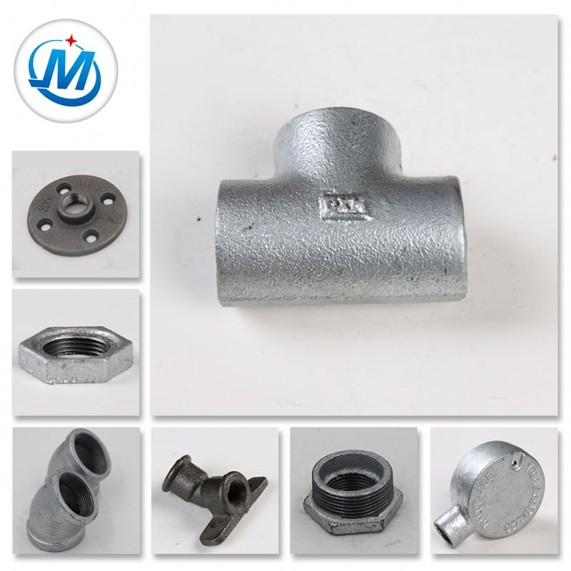 High Praise Round Shape Castings Iron Thread Pipe Fittings