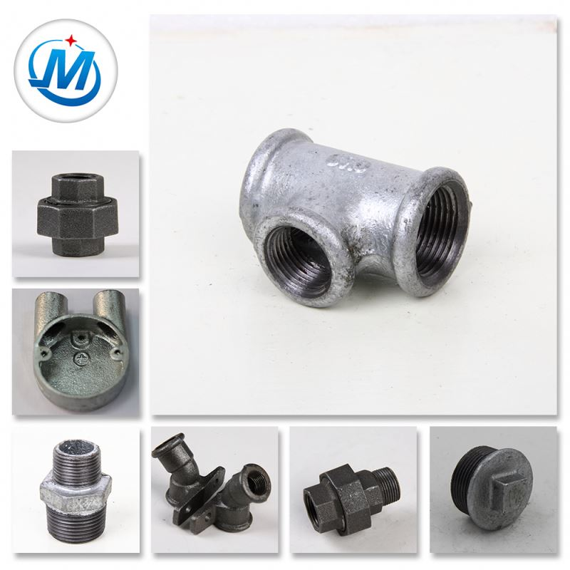 Steam Heating Tube Connector Used Connector Round Malleable Iron Pipe Fittings
