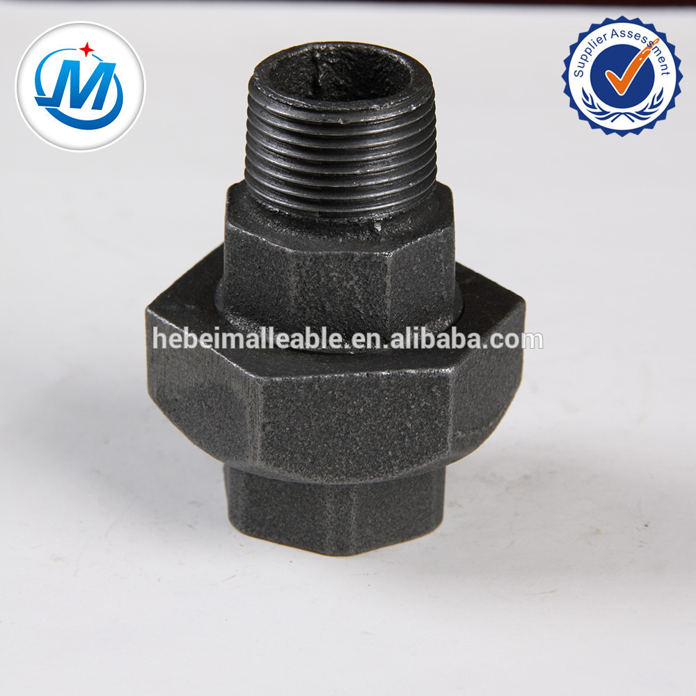 ISO9000 APPROVED Malleable Iron Pipe Fitting Union