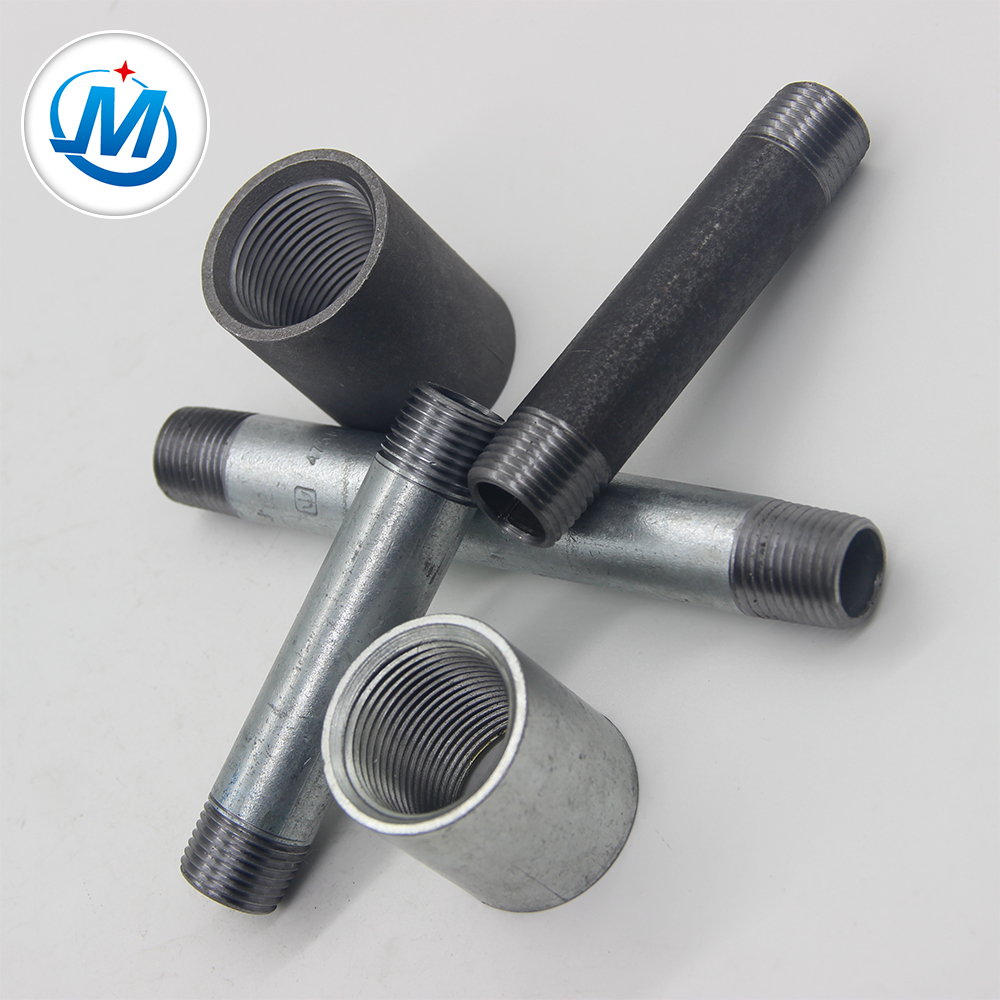Factory Price An Male To Npt Threaded Brake Hose Fittings - Black Pipe Nipples And Fittings 3 4 Npt – Jinmai Casting