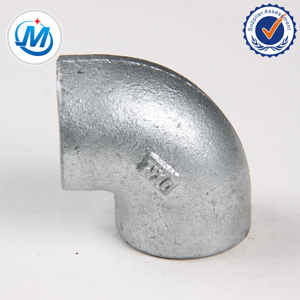 Wholesale Dealers of Hex Reducing Nipple Ss304 Ss316 - malleable iron pipe fitting gi elbow – Jinmai Casting detail pictures