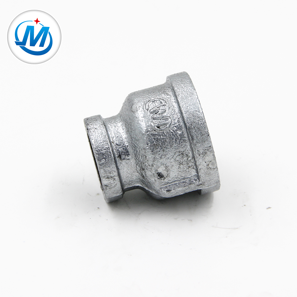Free sample for Collar Pipe Fittings - Hot selling Bs Standard / npt THREAD Beaded Typle Hot dipped pipe fitting – Jinmai Casting