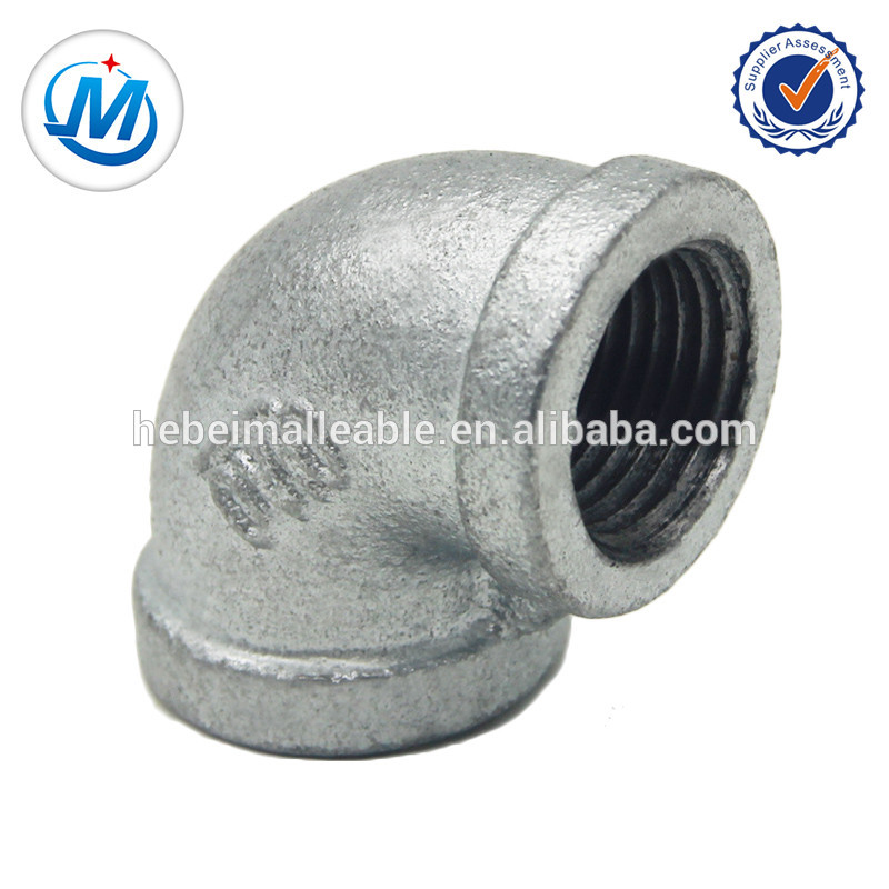 Cheap PriceList for Cpvc Pipe Fittings - elbow banded 90 degree malleable iron pipe fittings – Jinmai Casting
