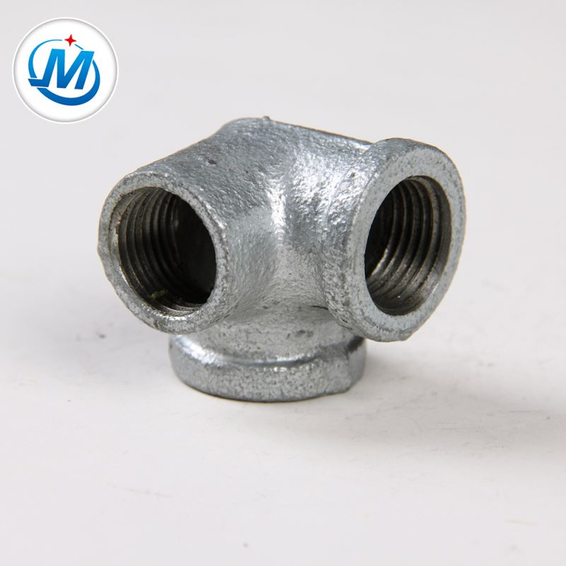 Good Quality Beaded Malleable Iron Pipe Fittings Sideoutlet Elbow