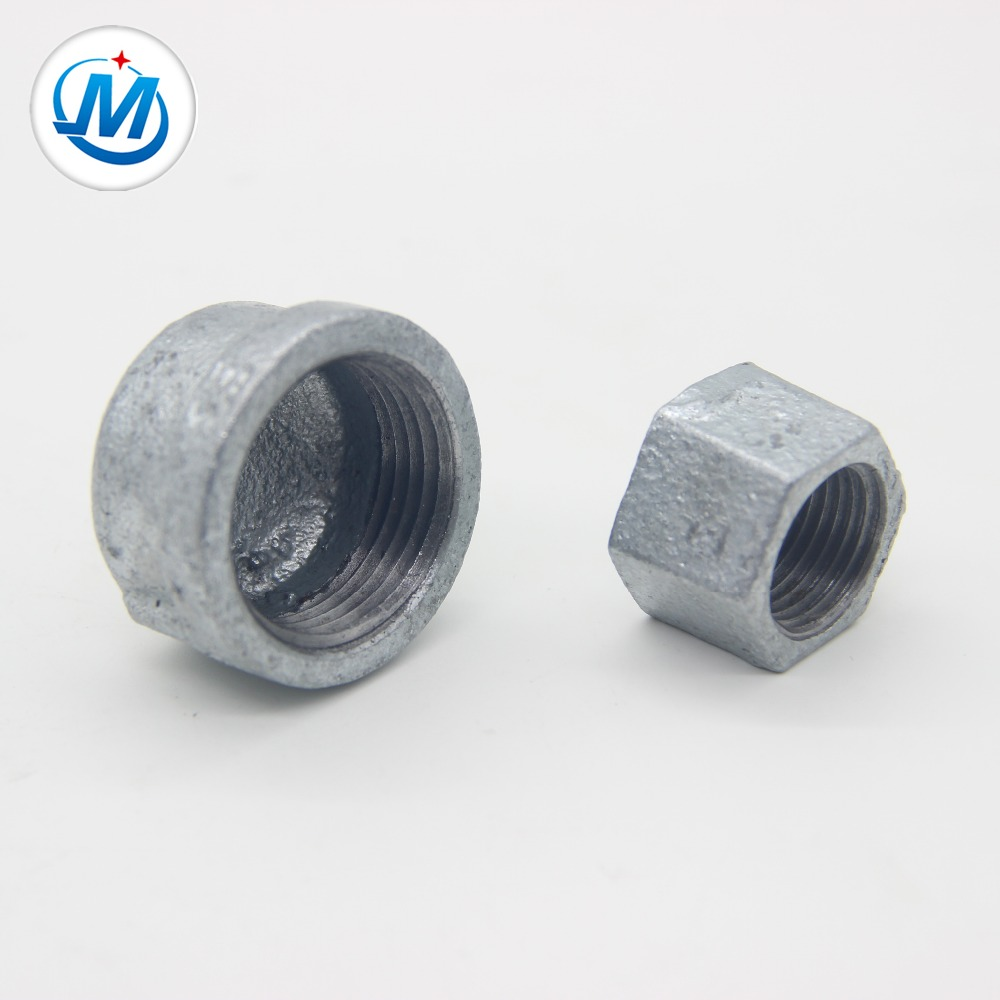 cast iron pipe fitting cap and hexagon cap