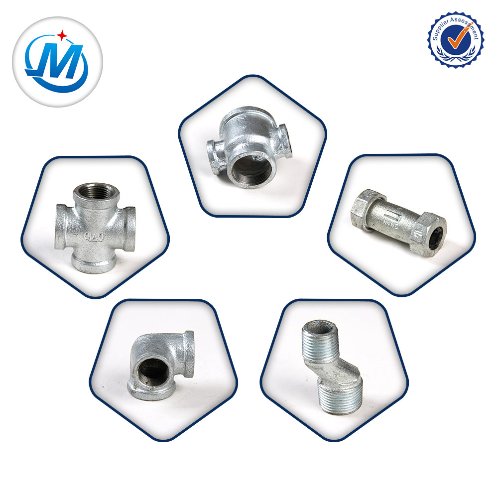 Lowest Price for Pvc Pipe Fitting Drawings - pipe and fitting factory price malleable iron pipe fitting cross – Jinmai Casting