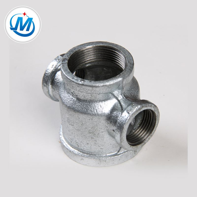 OEM China Stainless Steel Threaded Hose Ferrule - Sell All Over the World 2.4mpa Test Pressure Tube Fittings Pipe Reducer Cross – Jinmai Casting