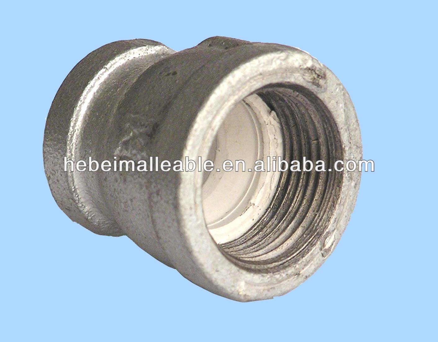 malleable iron pipe fittings socket lining plastic